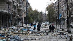 Syria: Bắt đầu tiến hành sơ tán quân nổi dậy ra khỏi Aleppo