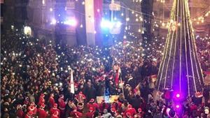 Nổ lớn, phá vỡ lễ Giáng sinh ở thành phố mới giải phóng Aleppo