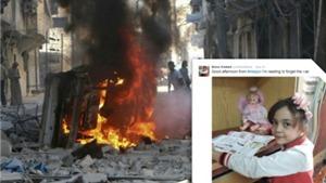 'Em bé Syria' 7 tuổi gây bão với những bài tường thuật chiến tranh
