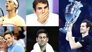 Nhìn lại mùa giải ATP 2016: Giải Oscar cho sự hấp dẫn
