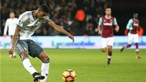 Marcus Rashford: Vũ khí dự phòng không thể thiếu của Mourinho
