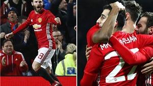 ĐIỂM NHẤN M.U 2-0 Hull: Mata rực sáng, Fellaini không phải 'phế nhân'. Mourinho rất coi trọng cúp Liên đoàn