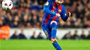 Lionel Messi liên tục sút phạt thành bàn: 'Bend it like Messi'
