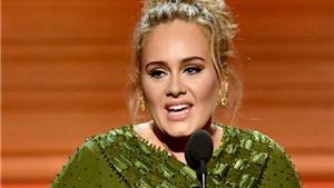 Grammy 2017: Adele lập 'hattrick', bật khóc trên sân khấu