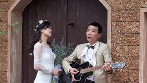 Ảnh cưới như mơ của nhạc sĩ Nguyễn Vĩnh Tiến