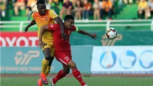 Đội bóng Công Vinh thất bại trước Hải Phòng 'quái chiêu'
