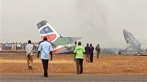 Vụ tai nạn máy bay tại Nam Sudan: Hơn 40 người thoát chết