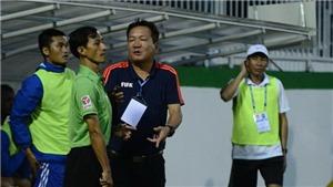 Trọng tài nhận sai khi công nhận bàn thắng của HAGL, Gangwon bỏ quên Xuân Trường