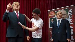 Vì sao Bulgaria dựng tượng sáp ông Trump và Putin?