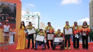 Trao thưởng VĐV, HLV tiêu biểu năm 2016 tại phía Nam