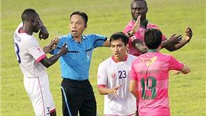 CLB Sài Gòn 'kêu mất oan' chiến thắng trước FLC Thanh Hóa vì trọng tài
