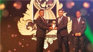 HLV Mai Đức Chung, Văn Hậu được vinh danh tại AFF Awards 2017