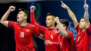 Xem trực tiếp Việt Nam - Uzbekistan, tứ kết futsal châu Á