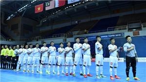 Link trực tiếp bóng đá futsal Việt Nam vs Đài Bắc Trung Hoa (18h00, 5/2)