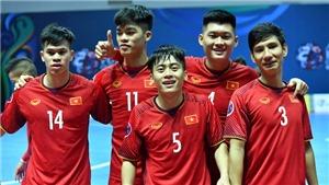 Link xem trực tiếp Việt Nam - Uzbekistan, tứ kết futsal châu Á