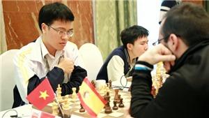 Kỳ thủ Nga độc chiếm ngôi đầu, Lê Quang Liêm tăng tốc