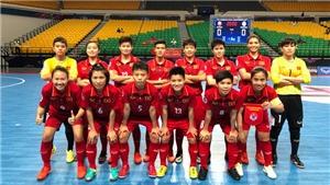 Xem trực tiếp bán kết futsal nữ châu Á Việt Nam - Iran