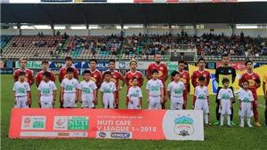 Video clip highlight bàn thắng Nam Định 0-2 HAGL: Minh Vương và Công Phượng lập công