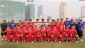 U19 Việt Nam 'tổng duyệt' với U19 Trung Quốc