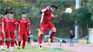 Tuyển Việt Nam tập nhẹ sau trận thắng Lào 3-0