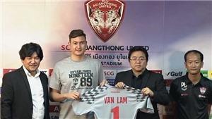 Văn Lâm ra mắt, mang áo số 1 tại Muangthong United