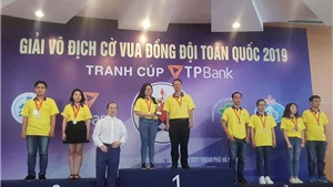 TP.HCM thắng lớn tại giải cờ vua đồng đội toàn quốc tranh Cúp TPBank 2019