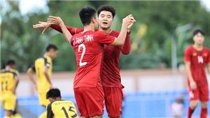 U22 Việt Nam 6-0 U22 Brunei: 'Đánh tenis' ở Binan