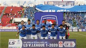 Cập nhật trực tiếp bóng đá V-League 2020: Thanh Hóa vs Quảng Ninh, Nam Định vs SLNA, Hà Nội vs Sài Gòn