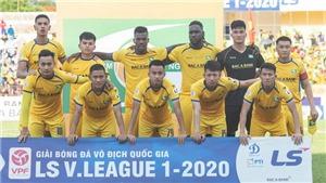 Cập nhật trực tiếp bóng đá V-League 2020: SLNA vs Viettel, Sài Gòn vs Nam Định