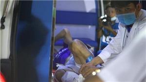 'Người quen V-League' không ngờ Hùng Dũng chấn thương nặng thế