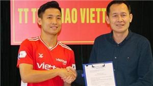 Trung vệ Bùi Tiến Dũng gia hạn hợp đồng với Viettel
