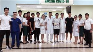 Tuyển thủ Việt Nam dự vòng loại World Cup đã được tiêm vắc xin COVID