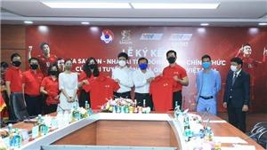 Đội tuyển Việt Nam có đối tác đồng hành mới
