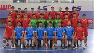 22 cầu thủ tập trung cho world cup futsal 2021