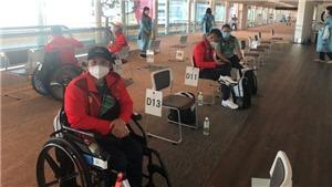 Đoàn Thể thao người khuyết tật Việt Nam đã tới Tokyo