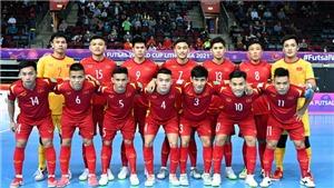 Vòng 1/8 World Cup futsal Việt Nam vs Nga: Đức Tùng chắc chắn vắng mặt