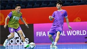 Futsal Việt Nam thoải mái tâm lý trước trận gặp Nga