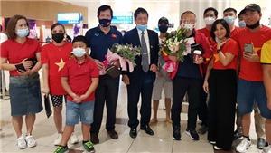 Đội tuyển Việt Nam được chào đón ở UAE