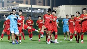 Tuyển thủ Việt Nam sung sức chờ đấu đội tuyển Trung Quốc