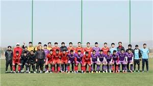 U23 Việt Nam bất ngờ đấu tập nội bộ chọn đội hình xuất phát