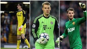 De Gea, Courtois, Neuer, ai đang là thủ môn hay nhất thế giới?