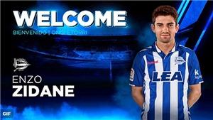 Real Madrid bán con trai của Zidane cho Alaves