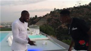 Lộ clip Pogba nhảy múa ăn mừng Lukaku cập bến Man United