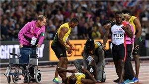 Bất ngờ với lý do khiến Usain Bolt chấn thương ở lần chạy cuối cùng