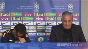 Neymar bật khóc trong phòng họp báo khi nói về rắc rối ở PSG