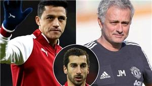 Mourinho ám chỉ Alexis Sanchez gia nhập M.U, bán Mkhitaryan cho Arsenal