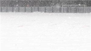 Video: Tuyết rơi dày đặc, trận chung kết U23 Việt Nam - U23 Uzbekistan sẽ bị hoãn?
