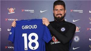 Giroud chính thức sang Chelsea, Batshuayi đến Dortmund
