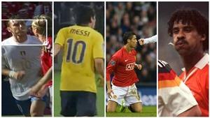 Ronaldo, Messi, Totti và những hành động 'phun mưa' tai tiếng nhất thế giới