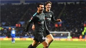 Leicester 1-2 Chelsea: Thắng chật vật, Chelsea tránh được M.U ở bán kết FA Cup
